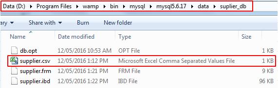 MySQL_Import_Data_Script