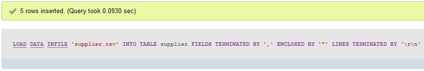 MySQL_Import_Data_Script_Result