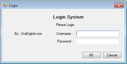 VB.Net - Login Form